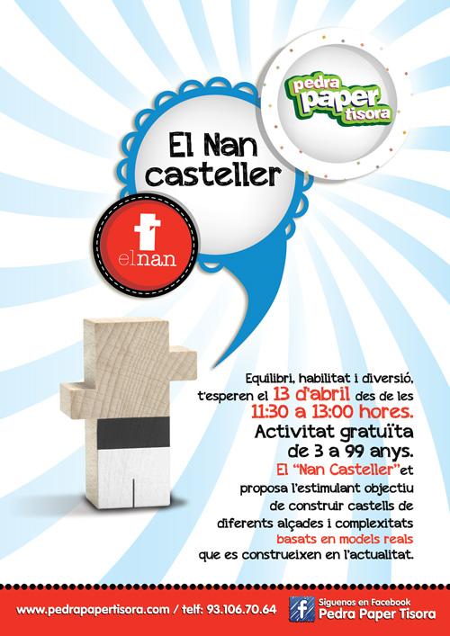 Taller de Nan Casteller a Pedra Paper Tisora